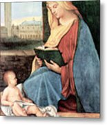 Christianity - Reading Time Metal Print