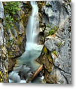 Christine Falls In The Canyon Metal Print