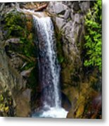 Christine Falls Mt Rainier Metal Print