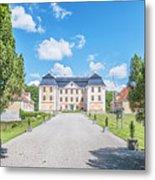 Christinehofs Slott Entrance Metal Print