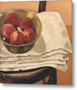Christmas Apples Metal Print