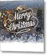 Christmas Blizzard Metal Print