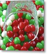 Christmas Candy Metal Print