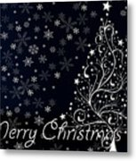 Christmas Card 10 Metal Print