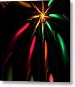 Christmas Card 110810 Metal Print
