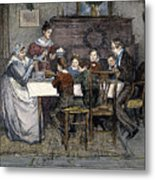 Christmas Carol Metal Print by Granger