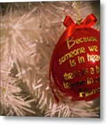 Christmas Decor Metal Print