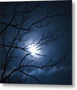 Christmas Eve Night Metal Print