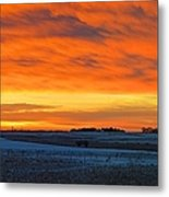 Christmas Eve Panrama 2 Metal Print
