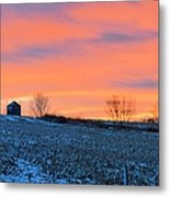 Christmas Eve Panrama Metal Print