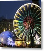 Christmas Fair Scotland Metal Print