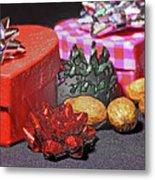 Christmas Gifts Metal Print