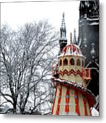 Christmas Helter Skelter Scotland Metal Print
