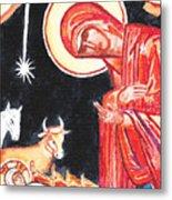 Christmas Icon 2 Metal Print