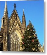 Christmas In Cologne Metal Print