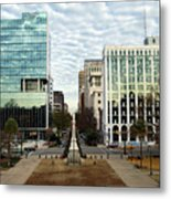 Christmas In Columbia Sc Metal Print