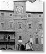 Christmas In Cortona Metal Print