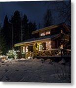 Christmas In Finland Metal Print