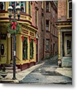 Christmas In Jim Thorpe Metal Print
