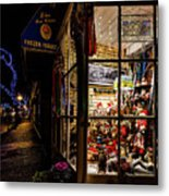 Christmas In Northport Metal Print