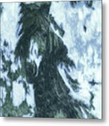 Christmas In Tesuque Metal Print
