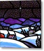 Christmas In The Shenandoah Valey Metal Print