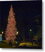 Christmas In Vail Metal Print