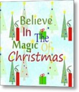 Christmas Magic Metal Print