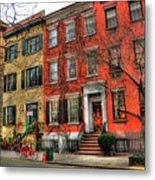 Christmas On Grove Street Metal Print