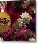 Christmas Ornament 2 Metal Print