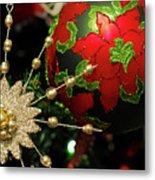 Christmas Ornaments 2 Metal Print