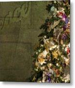 Christmas Peace Metal Print