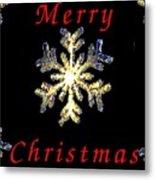 Christmas Snowflakes Metal Print