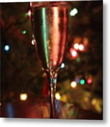 Christmas Toast Metal Print