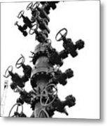Christmas Tree II Metal Print