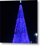 Christmas Tree San Salvador 2 Metal Print