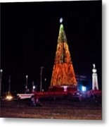 Christmas Tree San Salvador 6 Metal Print