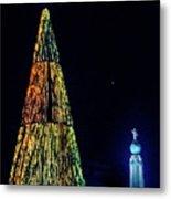 Christmas Tree San Salvador Metal Print