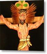 Christo Crucificado Metal Print