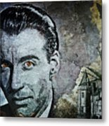 Christopher Lee Metal Print