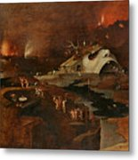 Christ's Descent Into Hell Metal Print