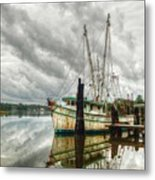 Christy Lynn On Bon Secour Metal Print by Michael Thomas