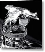 Chrome In Flight Metal Print