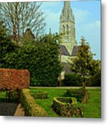 Church Garden Metal Print