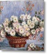 Chrysanthemums, 1878  Metal Print