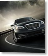 Chrysler 200 Metal Print