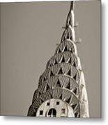 Chrysler Building New York City Metal Print