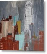 Chrysler Building, New York Metal Print