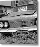 Chrysler Imperials - Bw Metal Print