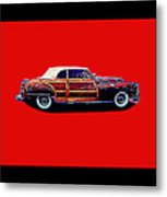 Chrysler Town And Country Convertible Roadster Metal Print